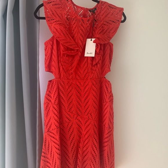 Bardot Dresses & Skirts - Bardot Red Dress- new with tags, size 8